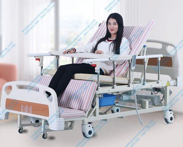 Giường bệnh điều khiển bằng điện và tay quay TG-BD01